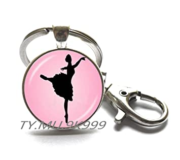 Llavero de bailarina del grupo Ballet, joyería de baile ...