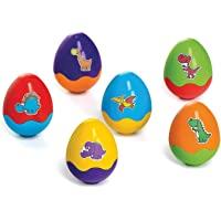 Brinquedo Educativo Dinohoo com 06 Ovos Didáticos Calesita