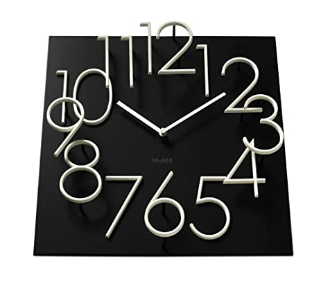 Amazoncom Glow in the Dark Wall Clock MoMA Exclusive Home Kitchen