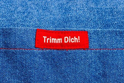 """Fitnesstasche/Trainingstasche/Stofftasche """"Trimm Dich"""