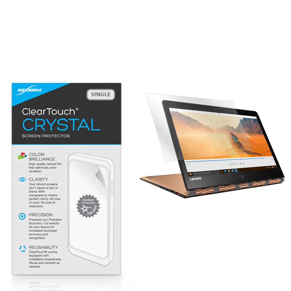 Lenovo Yoga 900 Screen Protector, BoxWave [ClearTouch Crystal] HD Crystal Film Skin to Shield Against Scratches for Lenovo Yoga 900