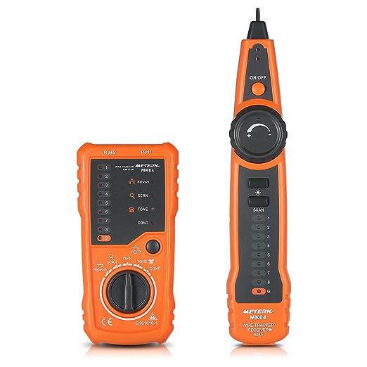 8 opinioni per Meterk linea Finder RJ11 RJ45 cavi multifunzione a filo per filo controllare lo