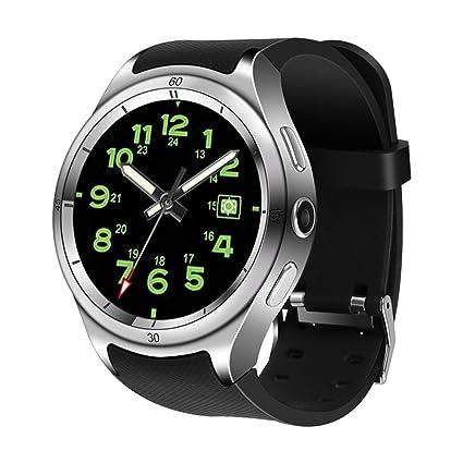 Amazon com: LIU551 Smart Watch Men's Android 5 1 MTK 6580 1GB 16GB