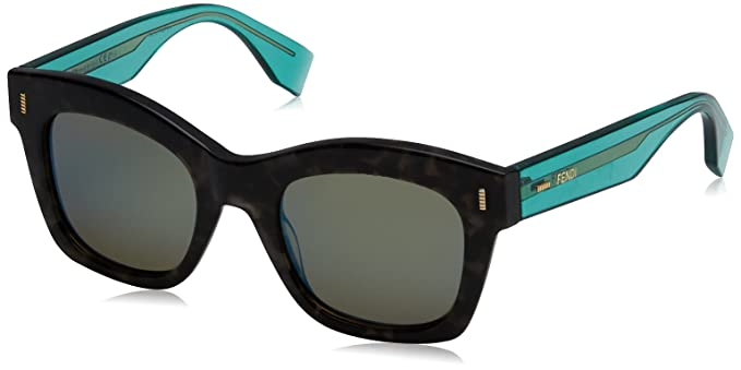 Fendi FF 0025/S 3U 7OF Gafas de Sol, Gris (Gryspt Trgrn ...