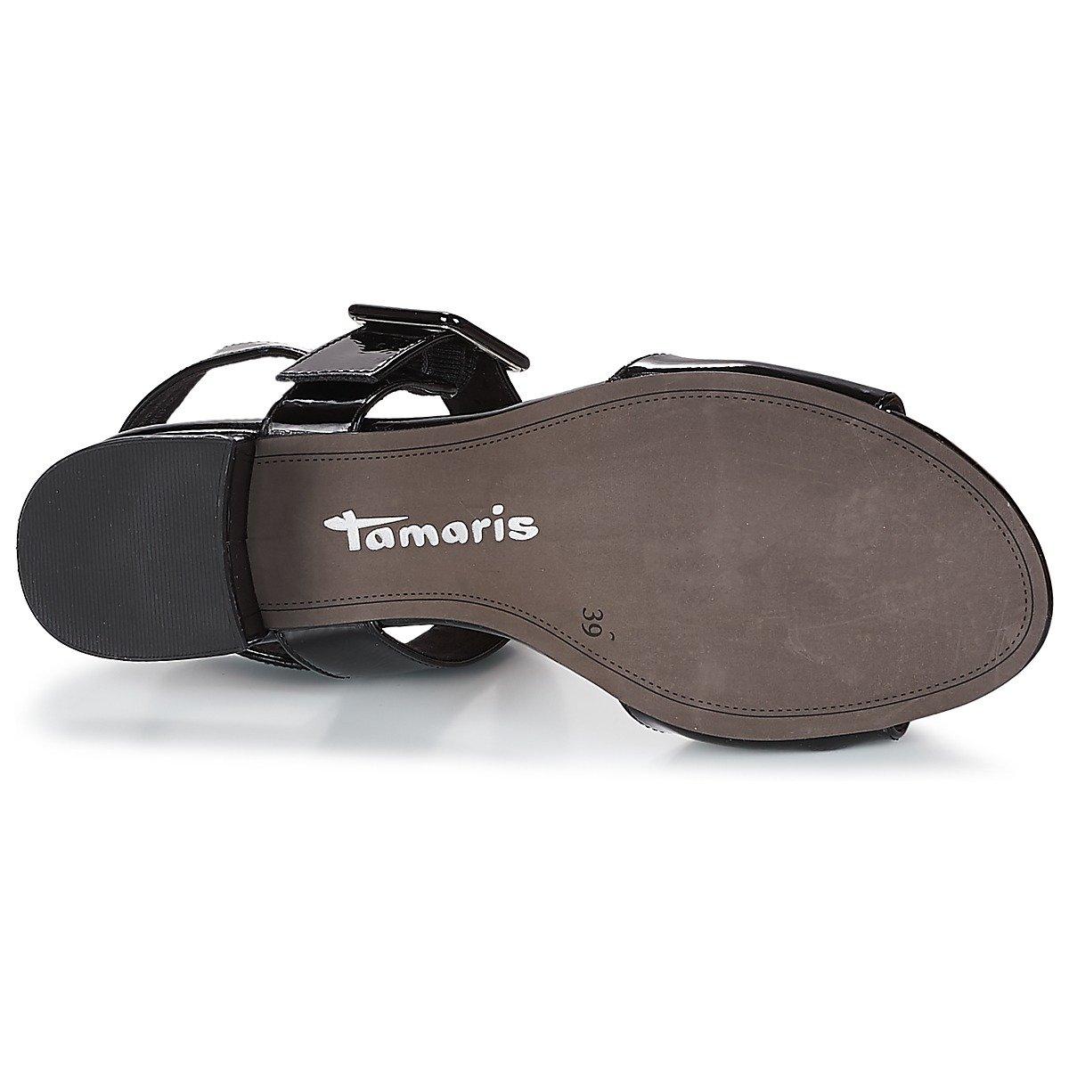 Tamaris Damen 28211 28211 28211 Slingback Sandalen Schwarz d9f8d1