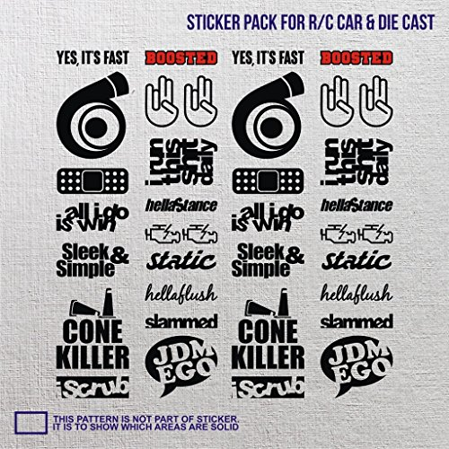 068 Brake (r/c remote control die cast sticker small dope effin turbo cone killer epic rally impreza decal buggy truck car brz insight fiesta macan journey brake wheel oil eclipse low supra)