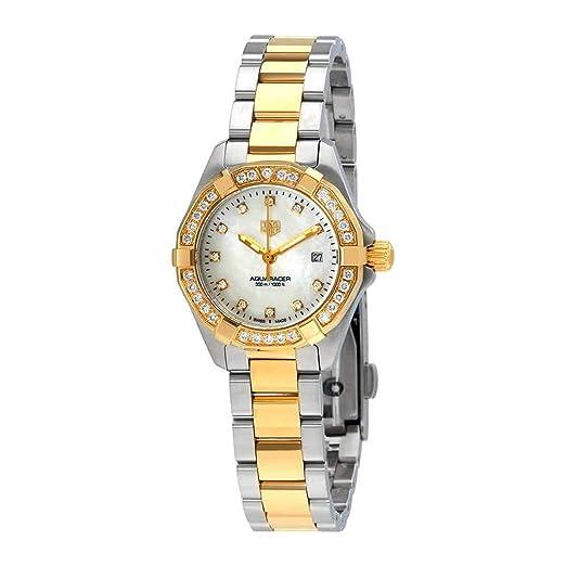 Tag Heuer WBD1423.BB0321 - Reloj de pulsera para mujer con esfera de nácar y diamantes blancos: Amazon.es: Relojes