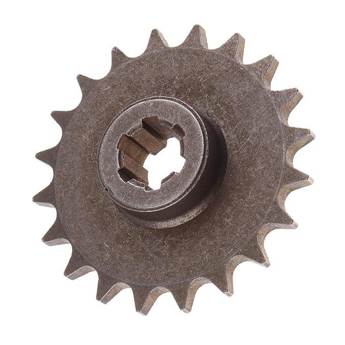 Homyl Caja De Engranajes 20T Pi/ñ/ón Delantero Para 49cc 2-Stroke Mini Dirt Pocket Bike