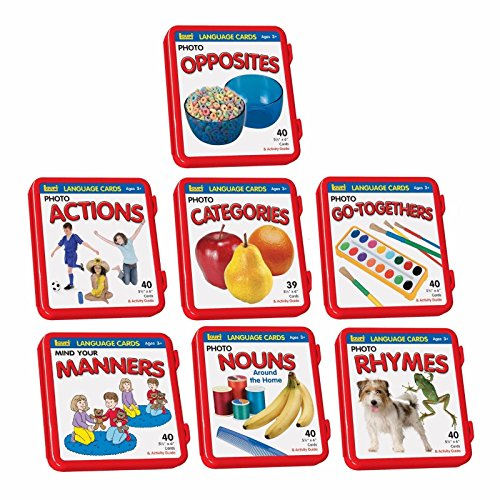 7 Complete Sets of Language Flash Cards Speech Therapy Autism ABA Special Needs Autism Awareness by Unknown