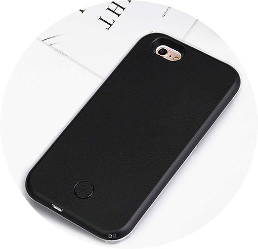 Coque de luxe lumineuse pour iPhone 6 6S 7 8 Plus X Selfie ...