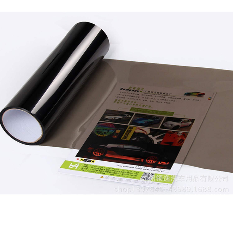 Feux Anti-Brouillard 48inch Teinte Autocollant Lumi/ère Noir,pour phares de Voiture,Feux arri/ère,Clignotants Mioke Film Phare de Voiture,2 Rolls 12
