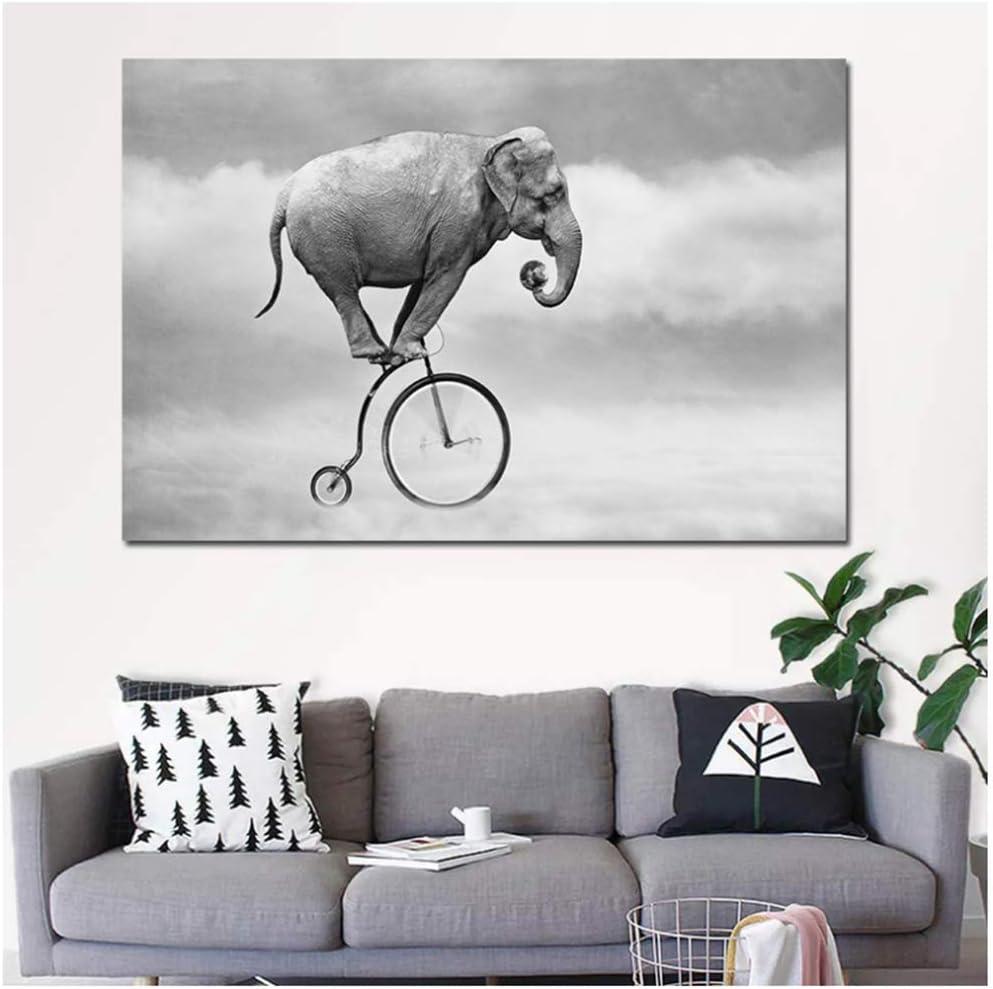 Giclee moderno Estirado y enmarcado Obra La imagen para la sala de ...