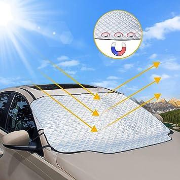 und Sonnenschutz f/ür Windschutzscheibe Frontscheiben-Schutzmatte Abdeckung Eis