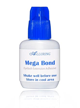 8b1e08cf1ce Image Unavailable. Image not available for. Color: ALLURING MEGA Bond Glue  Eyelash Extensions ...