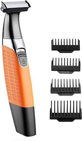 Todo en Uno Recortadora: Diseñada para uso corporal y facial, que puede ser recortadora, afeitadora