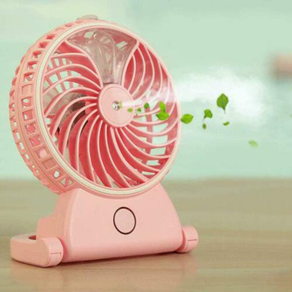 Personal Battery Operated or USB Powered Handheld Fan Yamart 2 in 1 P Portable Humidifier Handheld USB Mini Misting Cooling Spray Fan with 3-13 Hours Battery Life for Camping