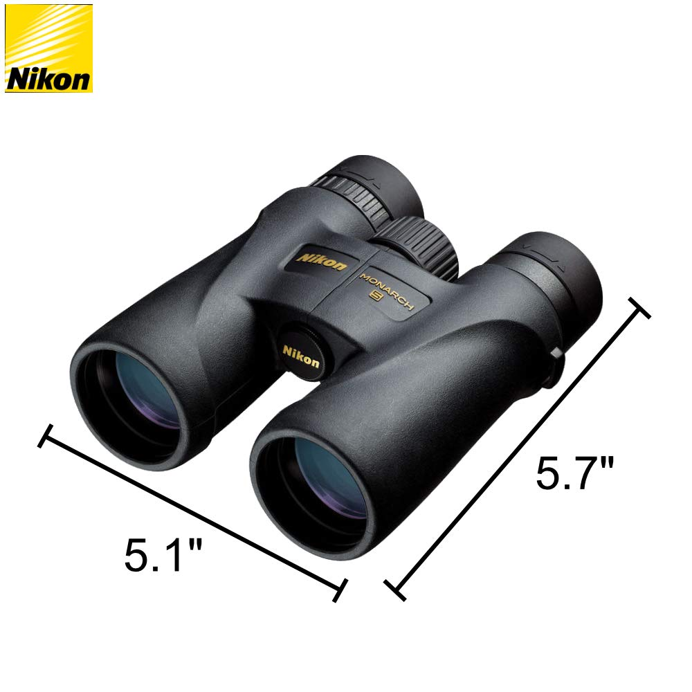 Amazon.com: Nikon Monarch 5 - Prismáticos (0.394 x 1.654 in ...