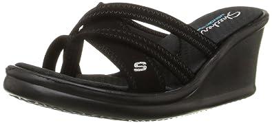 SKECHERS Women's Rumblers Young At Heart Wedge Sandals