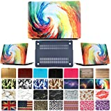 """Coosbo - Fashion Matte Patterns Hard Case Cover for 11"""" 11.6"""" Apple Mac Macbook Air Accessories Gift (11"""" Air (Model:A1370 or A1465 on the bottom of laptop), Colorful)"""