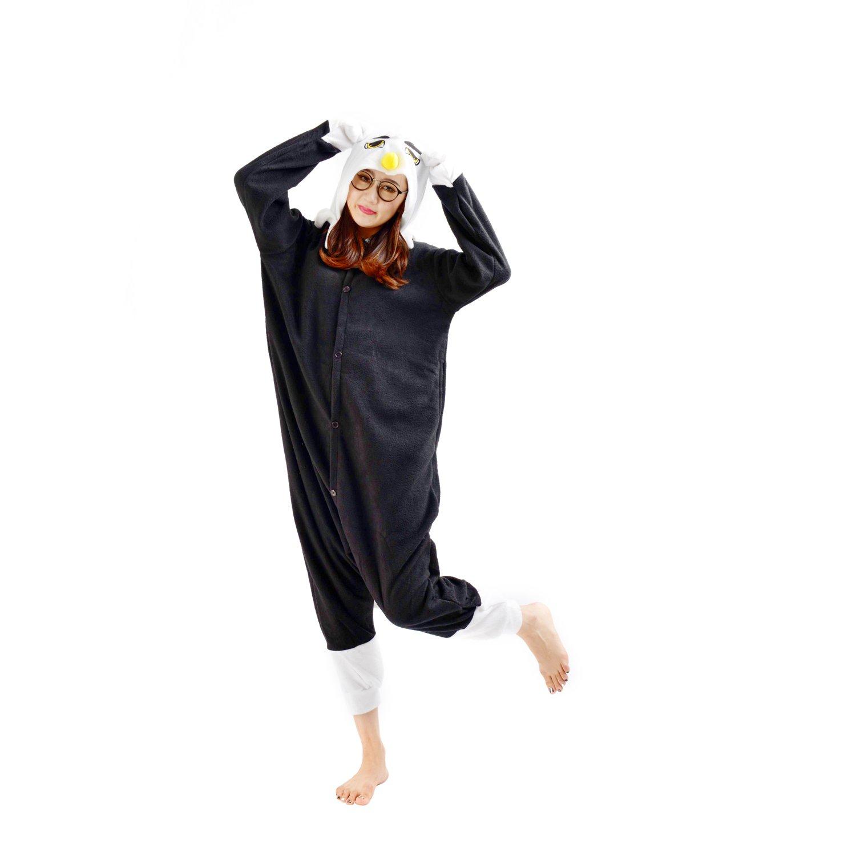 Casa Adult Hoodie - Pajamas Unisex Onesie Jumpsuit Playsuit All in One Piece Animal Kigurumi Eagle S-XL
