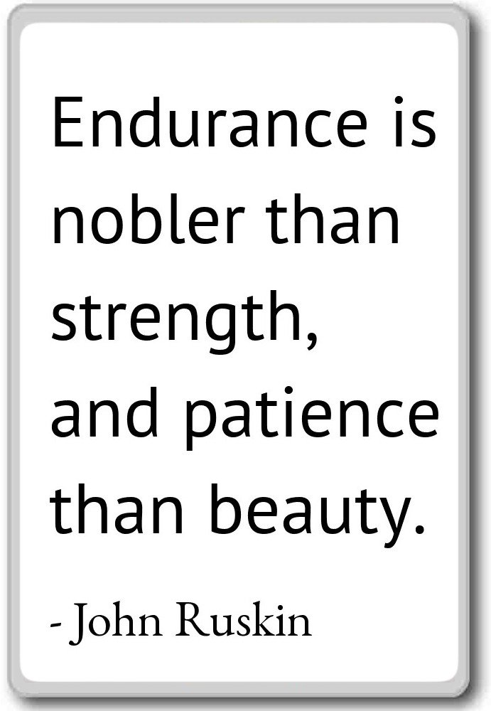 Amazon Endurance Is Nobler Than Strength And Patience