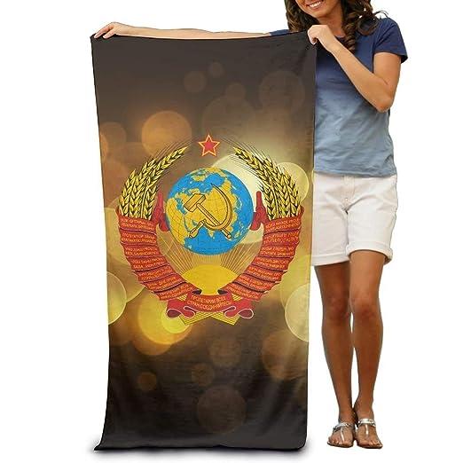 xcvgcxcvasda Serviette de Bain, Soviet Coat of Arms Adult ...