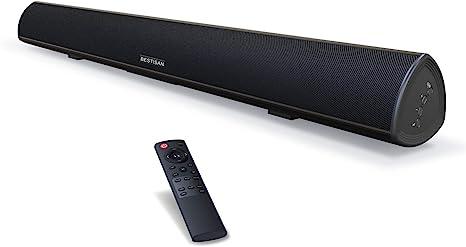 Sound Bar 100Watt Bestisan Soundbar For TV Wi