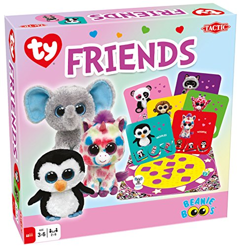Tactic Games US TY Beanie Boos Friends Board Game