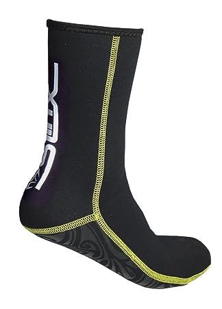 XL Schwarz Cressi Herren Ultra Stretch Neoprene Socks 1.5mm Premium Tauchsocken
