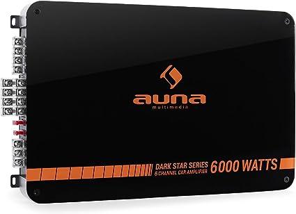 Auna Dark Star 6000 amplificatore auto 6 canali 6000W: Amazon.it