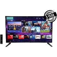 Croma 99 cm (39 Inches) HD Ready Smart LED TV EL7349 (Black) (2019 Model)