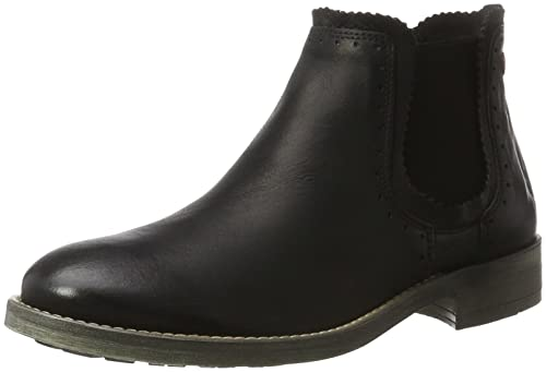 NoBrand Lit, Chelsea Boots Femme, (Black 01), 37 EU