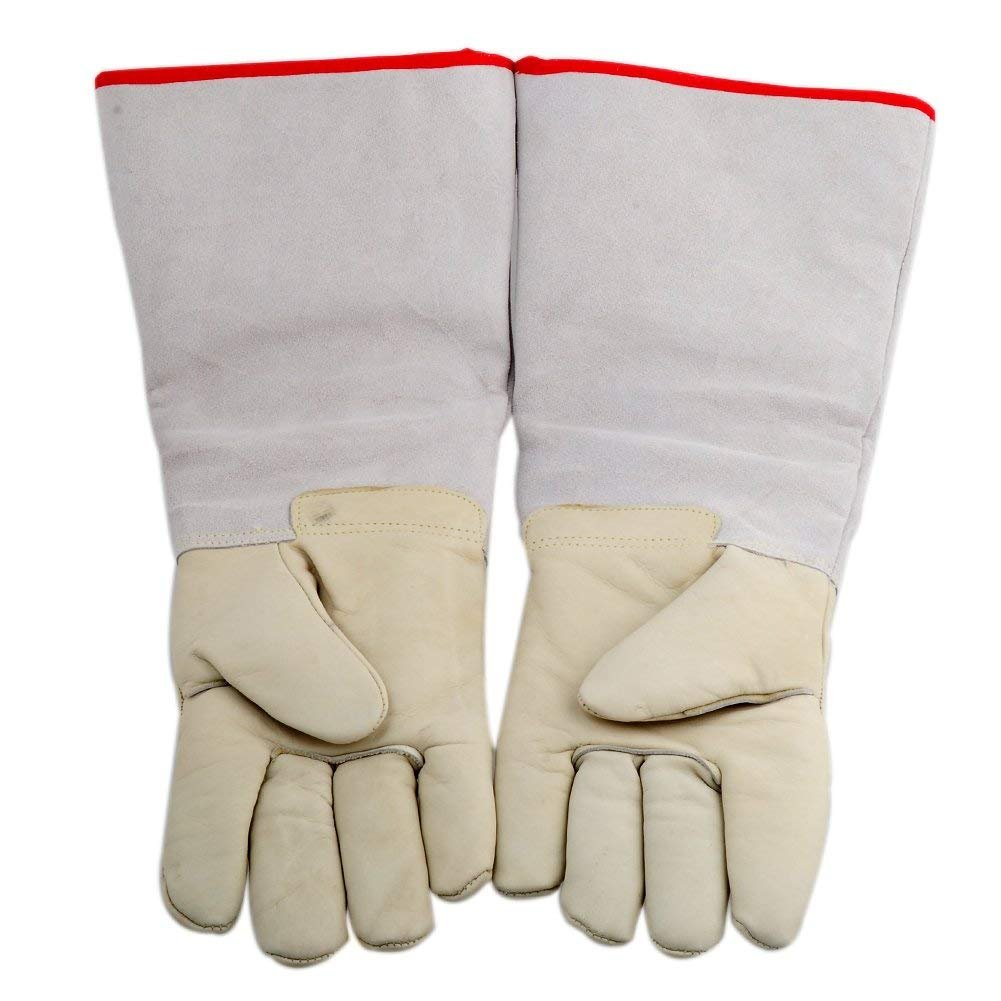 CTHOPE Cryogenic Gloves Ultra Long Waterproof Cold Protective Gloves for Liquid Nitrogen Frozen Cold Storage (17.72''/45cm)