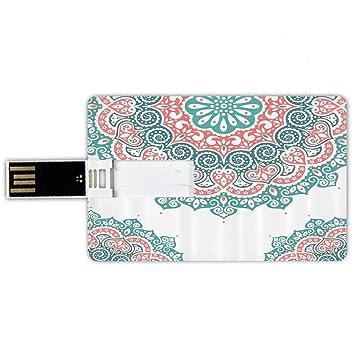 8GB Forma de tarjeta de crédito de unidades flash USB Alheña ...