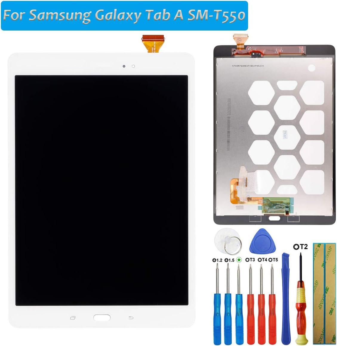 Conjunto de pantalla táctil para Galaxy Tab A SM-T550 T550