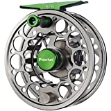 Piscifun Sword Fly Fishing Reel with CNC-machined Aluminum Alloy Body 3/4, 5/6, 7/8, 9/10 Weights(Black, Gunmetal, Pink, Space Gray)