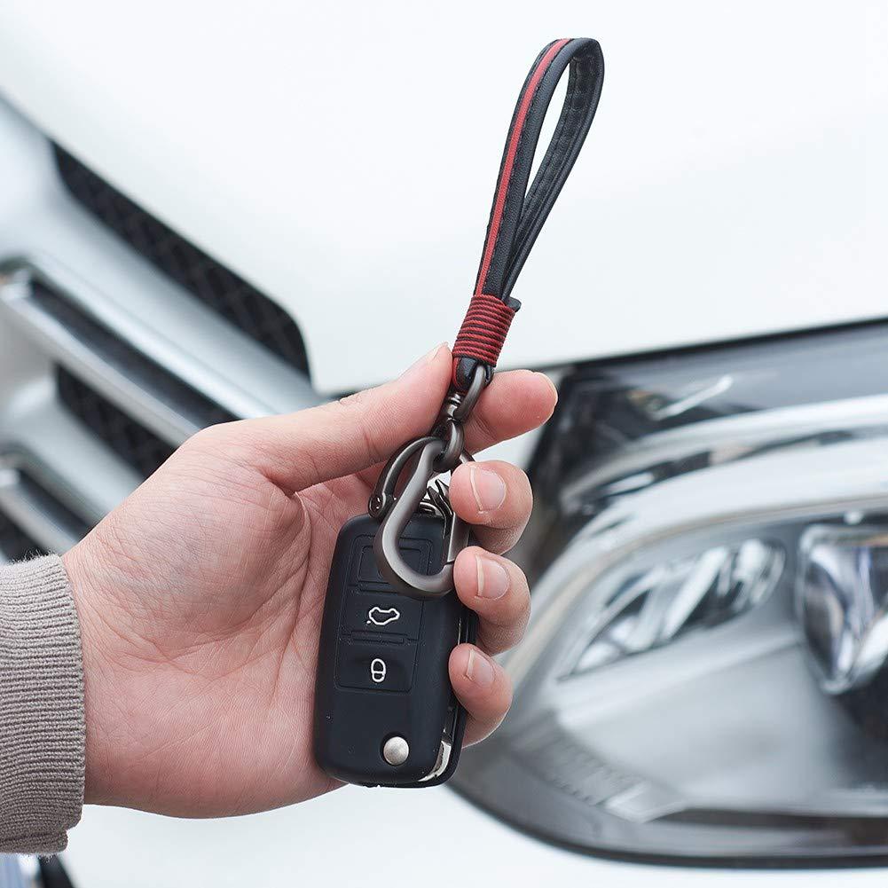 Blueshyhall Anti-Theft Clamp Auto Car Steering Wheel Lock Twin Hook for Car Truck SUV Black