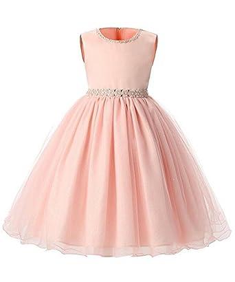 IWFREE IWFREE Mädchen Kinder Kleid Festliche Kleider ...