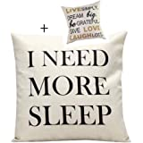 Malloom® Letters Sofa Bed Home Decoration Festival Pillow Case Cushion Cover