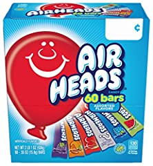 Nothing beats the tremendously tangy, playfully chewy chew of Airheads candy! This box is the delicious answer to your sweet tooth's dream and your bulk candy needs! Gluten-free, peanut-free and kosher, these mouth-watering White Mystery bars...