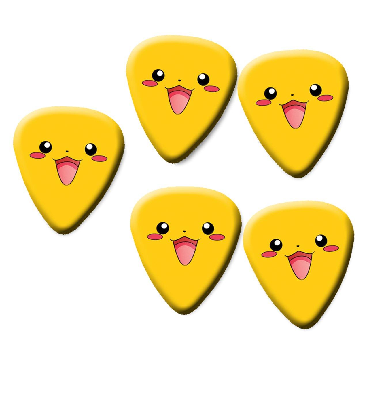 071mm Pokemon Standard Guitar Picks