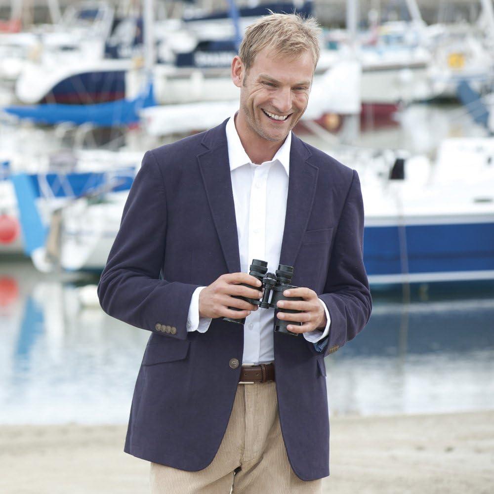 Samuel Windsor Mens Smart 100/% Cotton Moleskin Jacket Blazer in Olive Green Aubergine Purple and Gunmetal Grey Blue