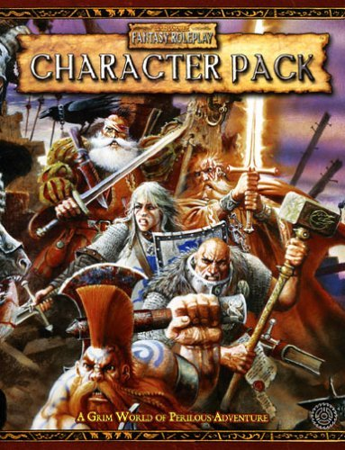 Character Record Pack: The Indispensible Aid to Help Players Create Mighty Heroes (Warhammer Fantasy Roleplay) by Green Ronin (18-Mar-2005) (Character Record Pack)