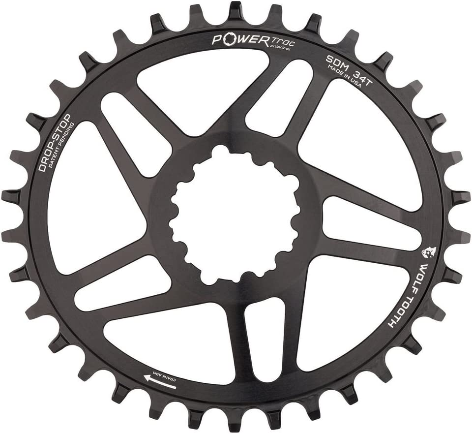 Wolf Tooth Oval Boost Race Face Plato Bicicleta, Negro, 34: Amazon ...