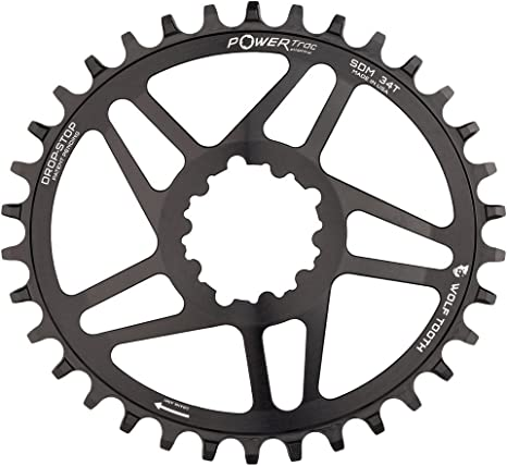 Wolf Tooth Oval Boost Race Face Plato Bicicleta, Negro, 34: Amazon.es: Deportes y aire libre