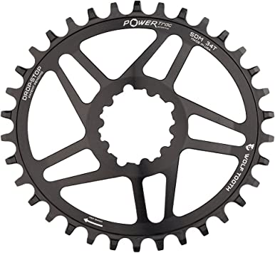 Wolf Tooth Oval Boost Race Face Plato Bicicleta, Negro, 34 ...