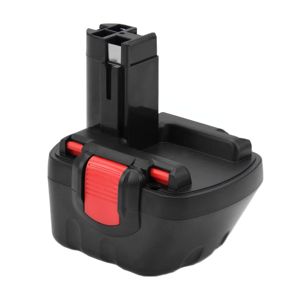 Creabest New 12V 3.5Ah Ni-MH Replacement Battery Compatible with Bosch BAT120 BAT139 BAT159 BAT043 BAT045 2607335275 2607335533 2607335557 13614 13614-2G 15614 1661 22614 32614 34614 366