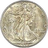 1946 S Walking Liberty Halves Half Dollar AU58 PCGS