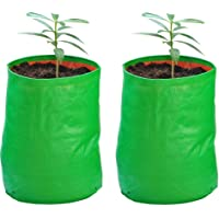 "YUVAGREEN Terrace Gardening Leafy Vegetable Green Grow Bag (18"" x 18"") - Pack of 2"