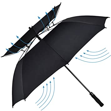Atree Stick Umbrella Durable and Strong Enough for the Fierce Wind and Heavy Rain  sc 1 st  Amazon.com & Amazon.com : Atree Stick Umbrella Durable and Strong Enough for ...
